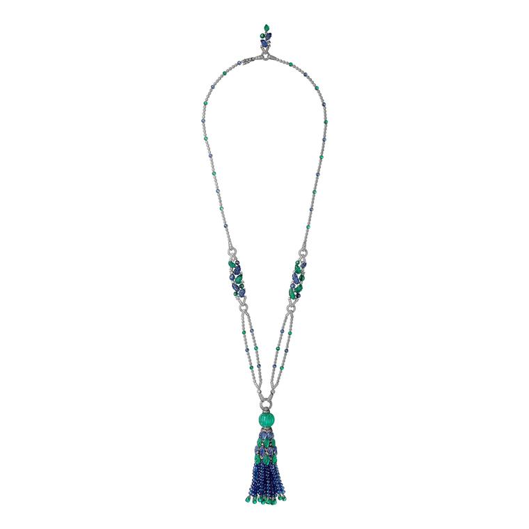 Cartier Étourdissant emerald, sapphire and diamond necklace