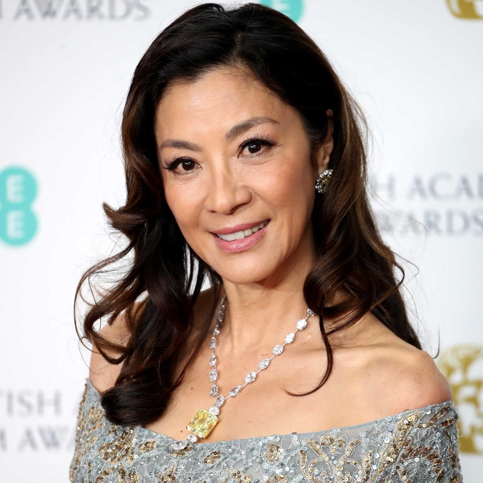 Michelle Yeoh Moussaieff diamonds BAFTAs 2019