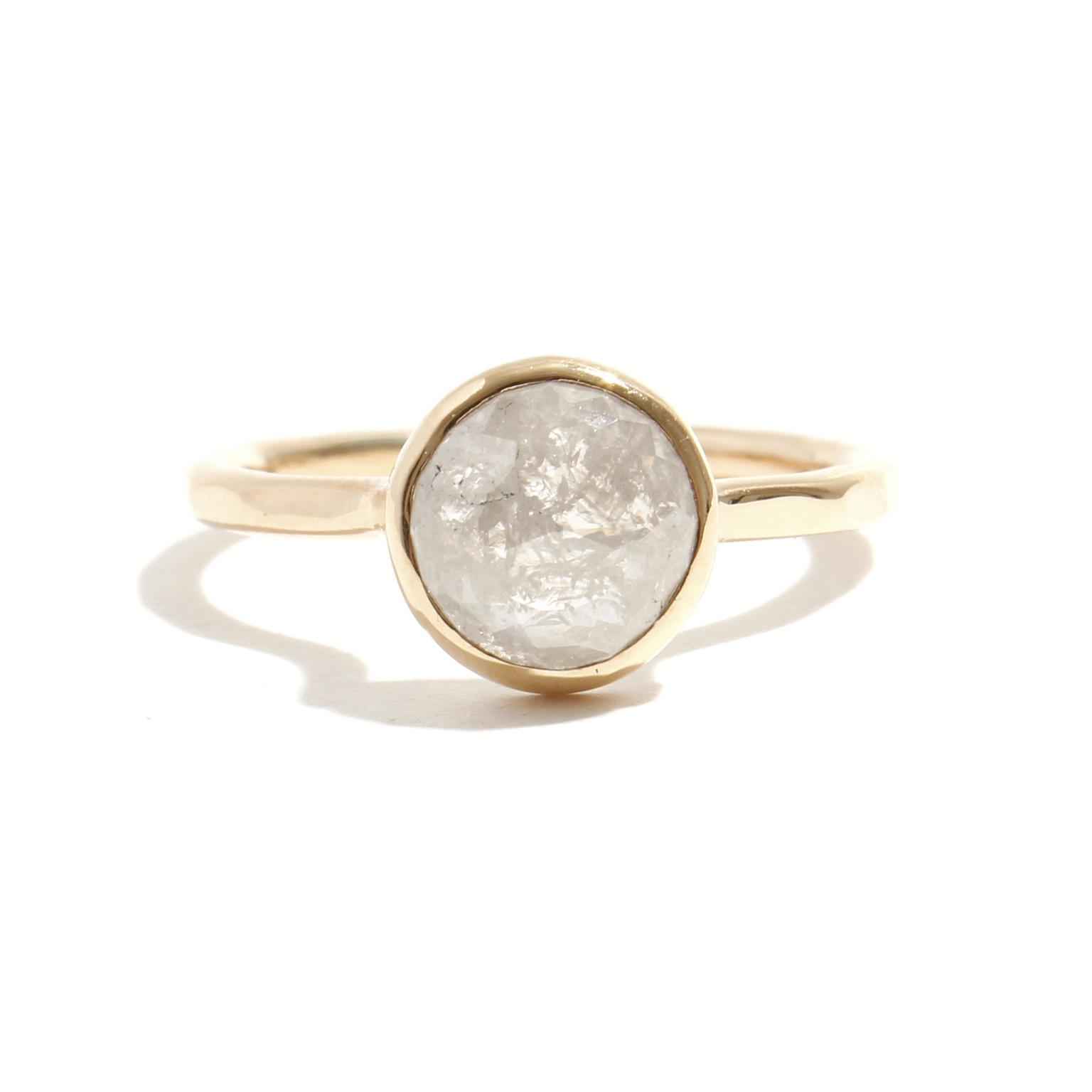 Melissa Joy Manning rose-cut diamond ring