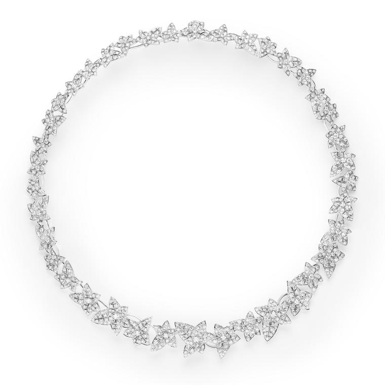 Boucheron Nature Triomphante Lierre de Paris high jewellery necklace