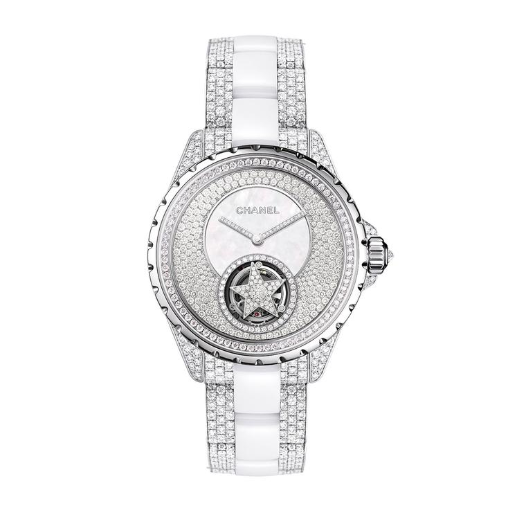 Chanel J12 Flying Tourbillon diamond watch
