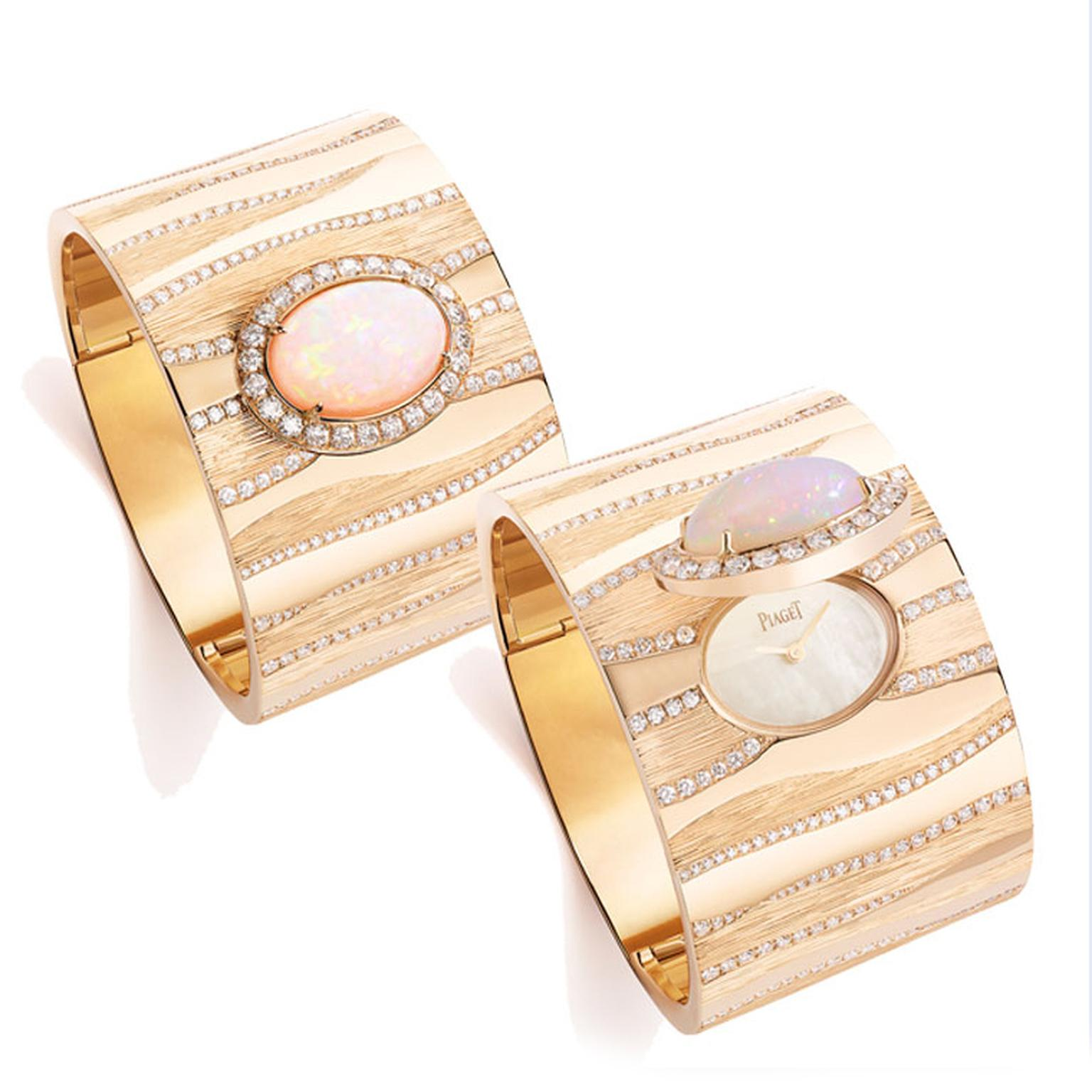 Piaget Sand Waves rose gold secret watch and cuff