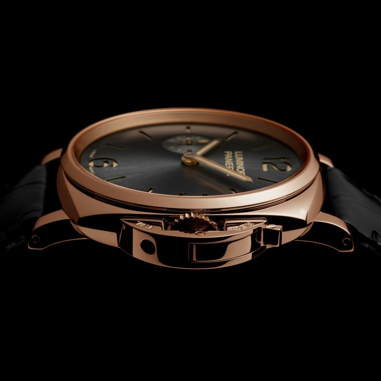 Luminor Due 42mm watch in red gold