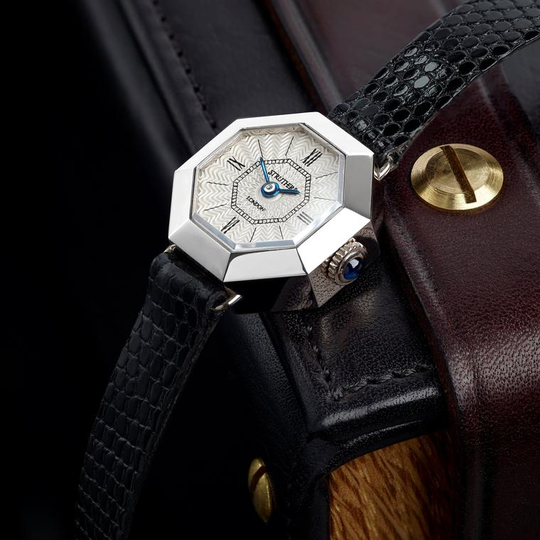 Octagonal bespoke watch