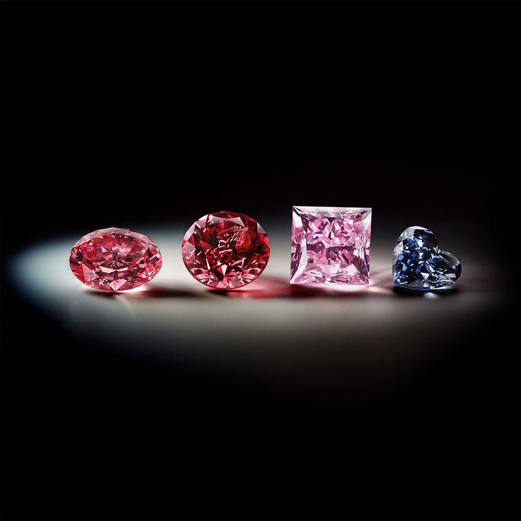 Best of 2013: coloured diamonds