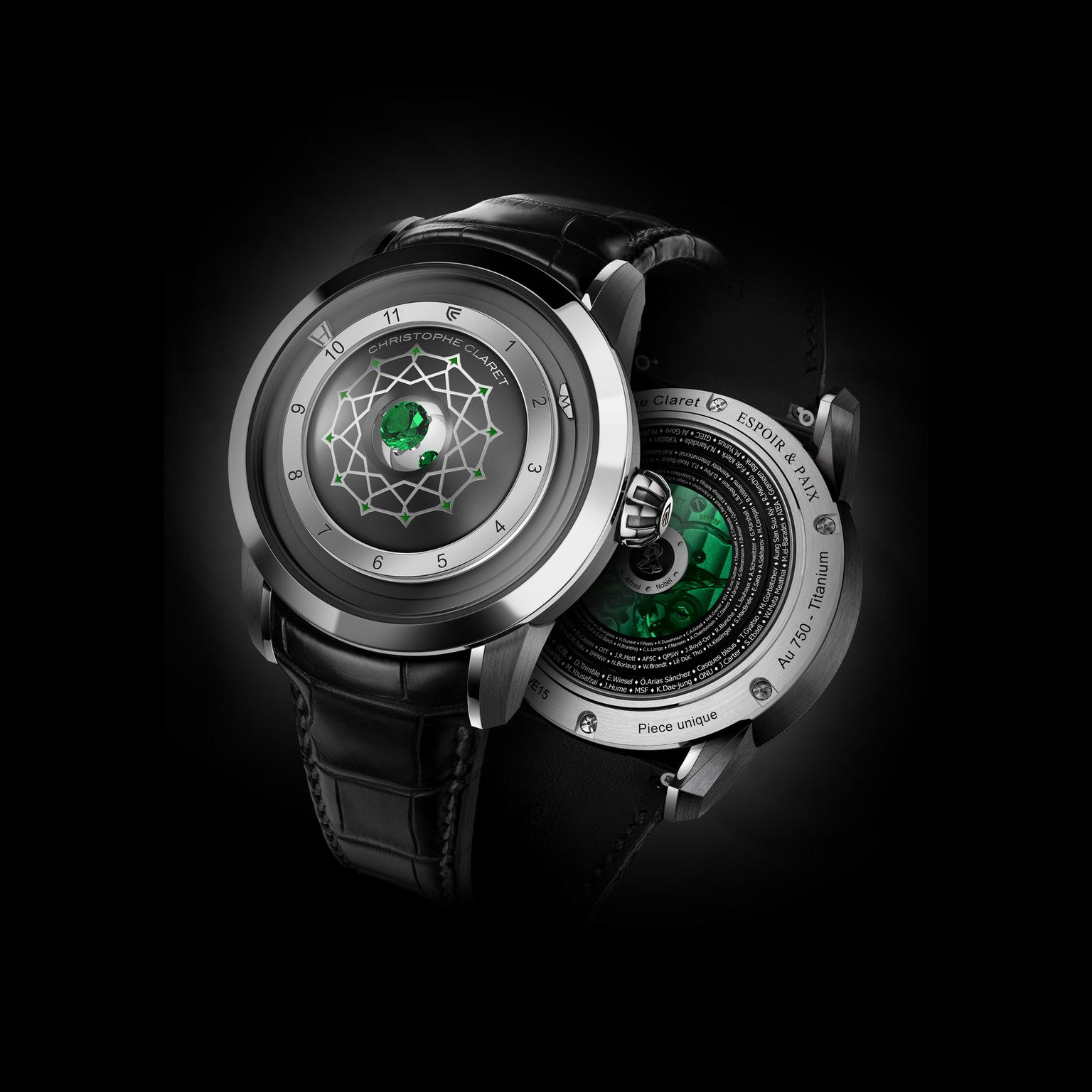 Christophe Claret Recto Verso watch