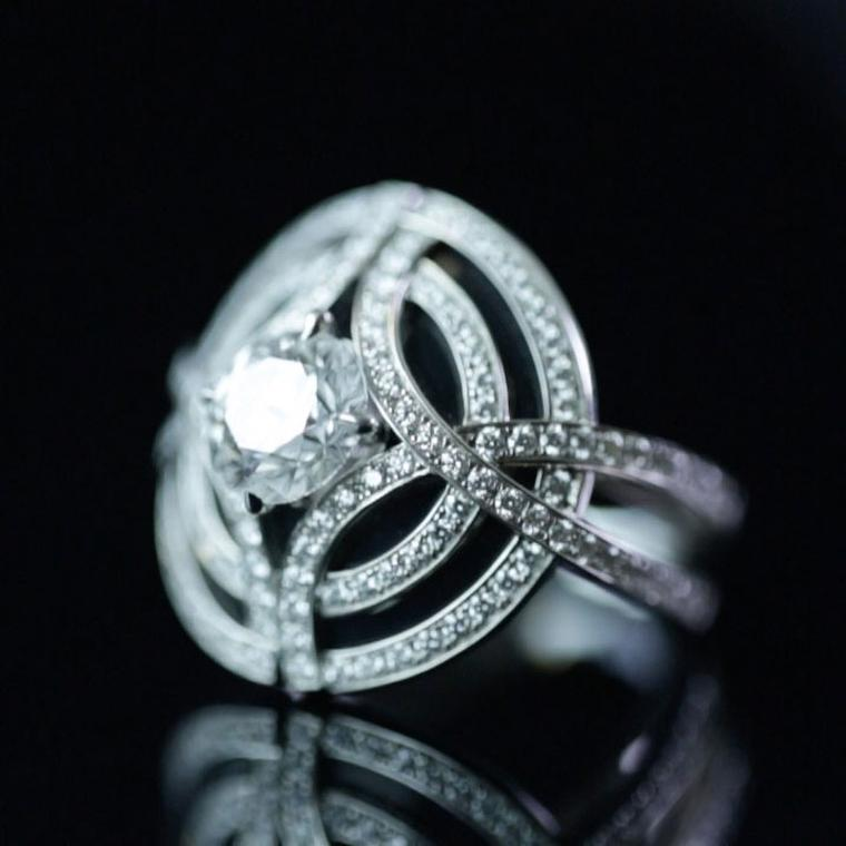 Diamond rings that defy convention