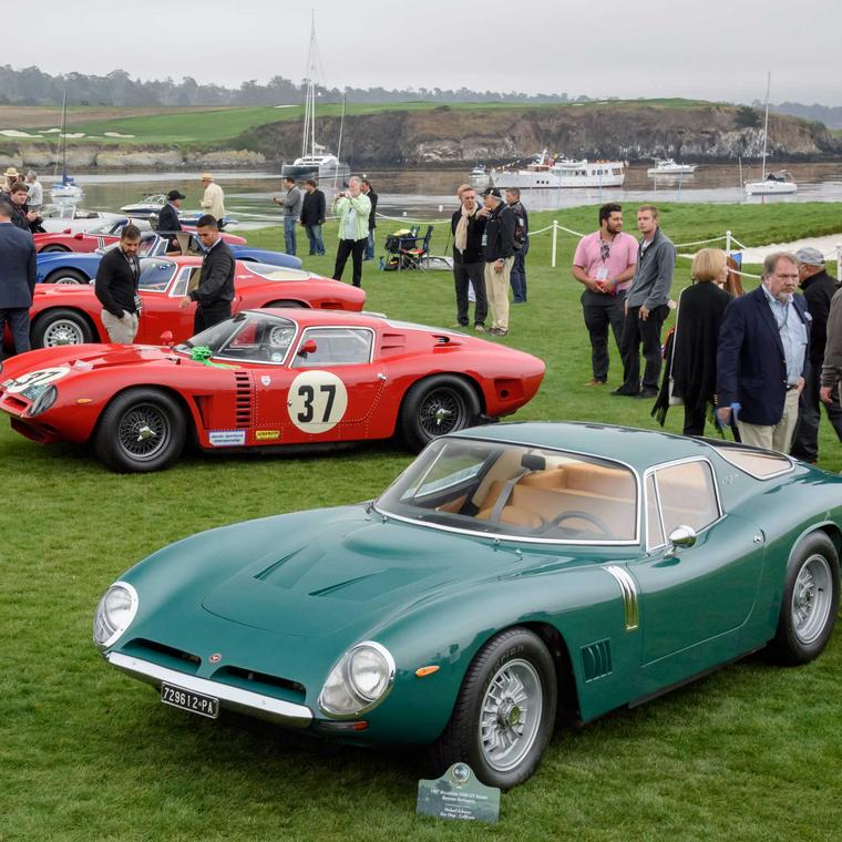 Pebble Beach Bizzarrini Class
