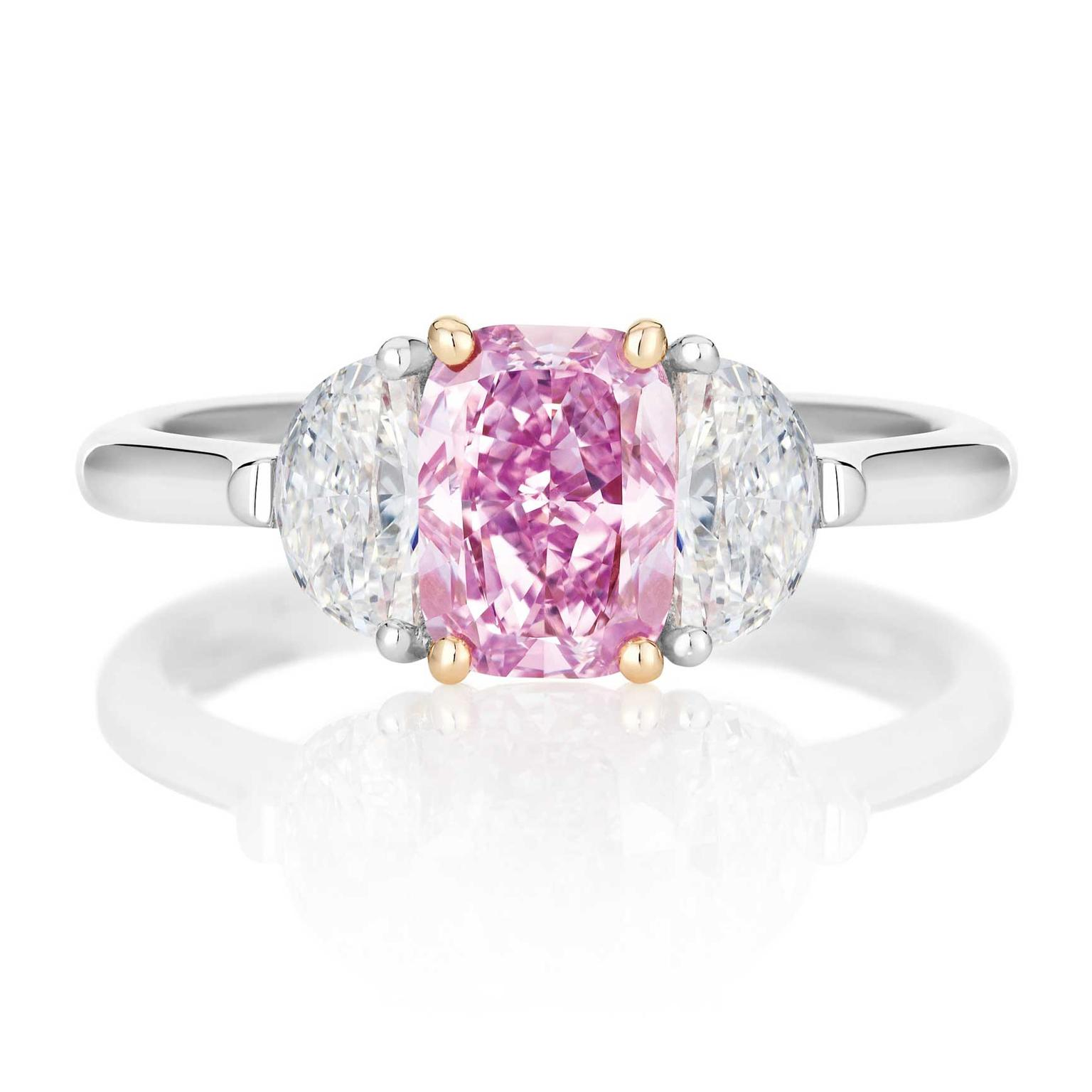 De Beers Master Diamonds pink diamond ring