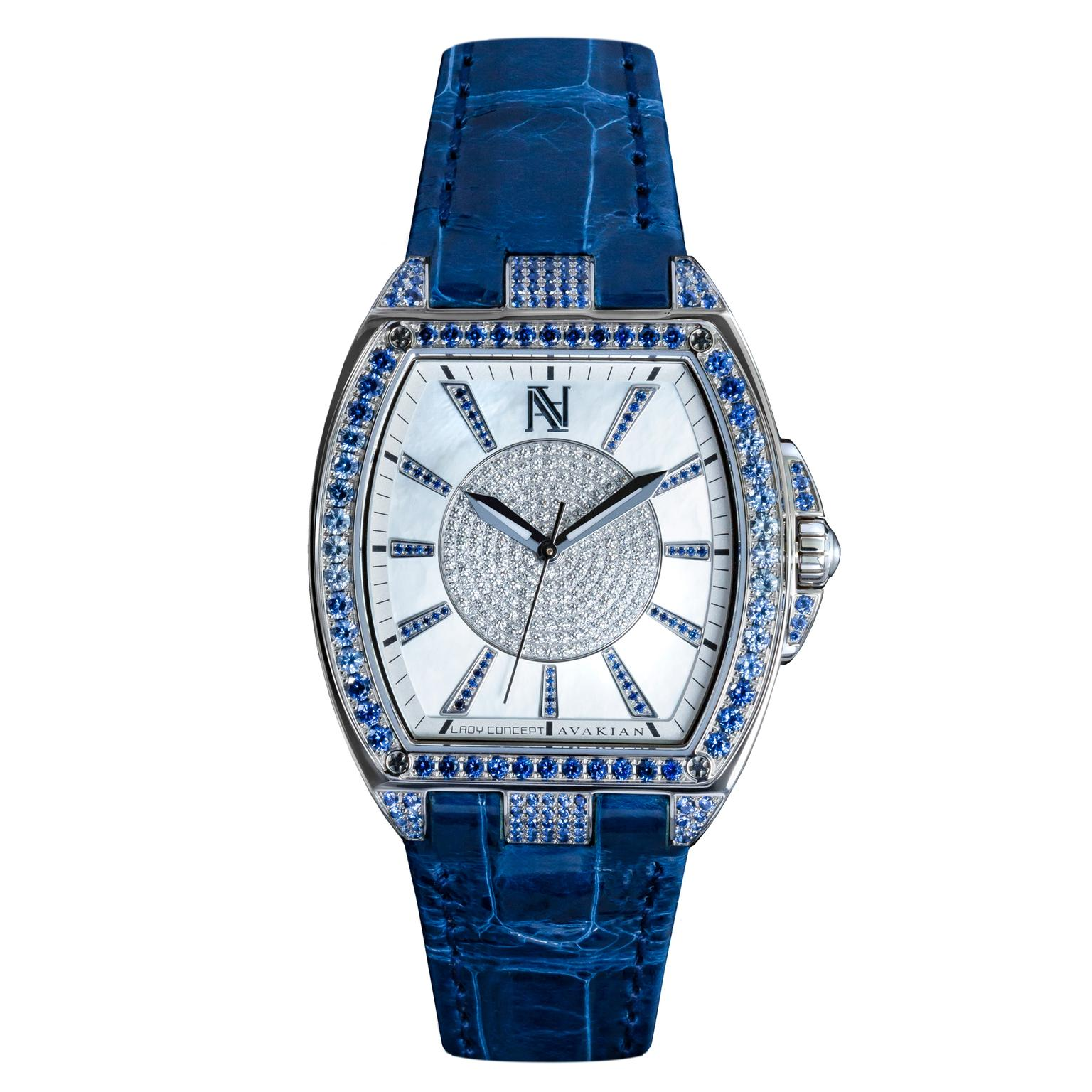 Avakian Lady Concept Blue Gradient watch