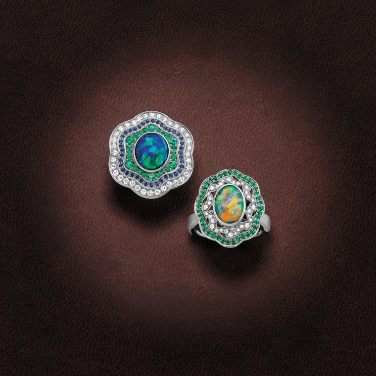Giulians opal rings