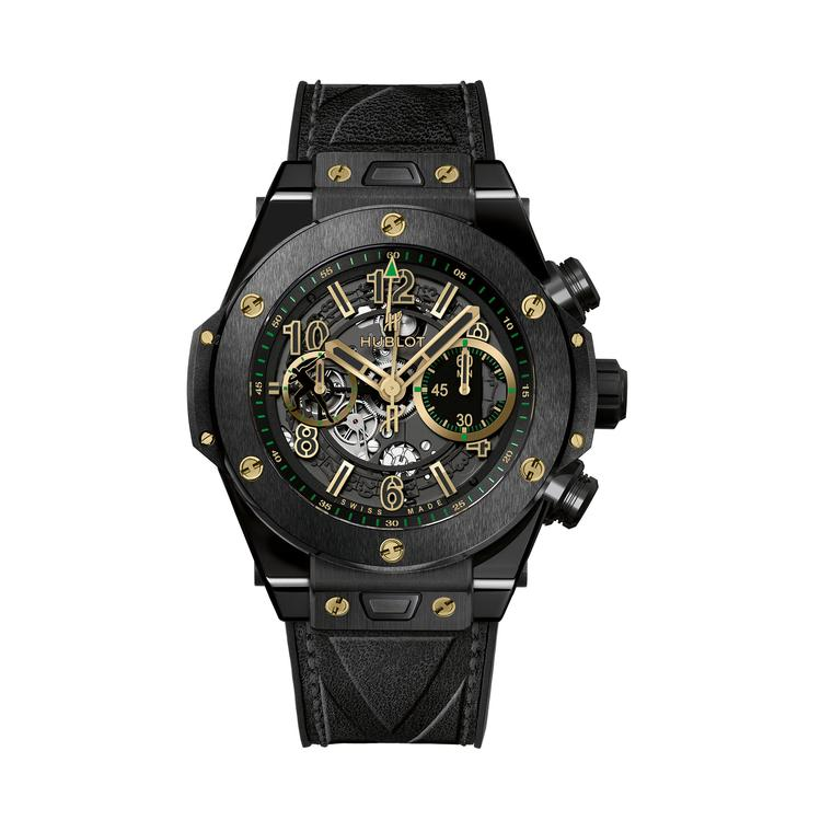 Hublot Big Bang Unico Usain Bolt black ceramic
