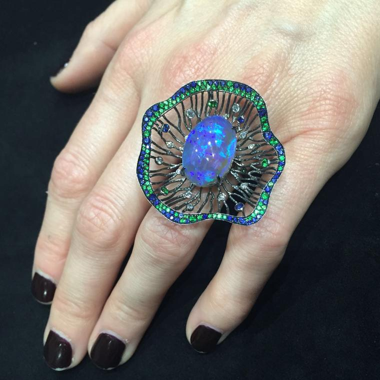 Jewellery Theatre opal ring
