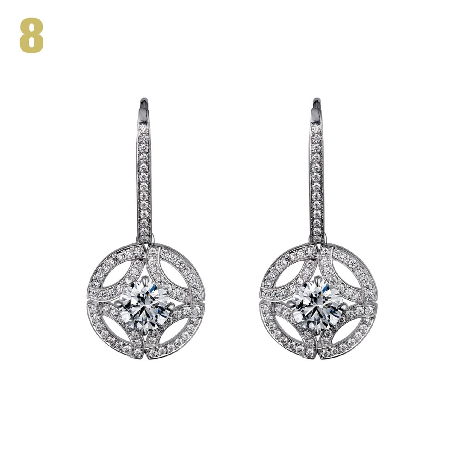 Galanterie de Cartier diamond earrings