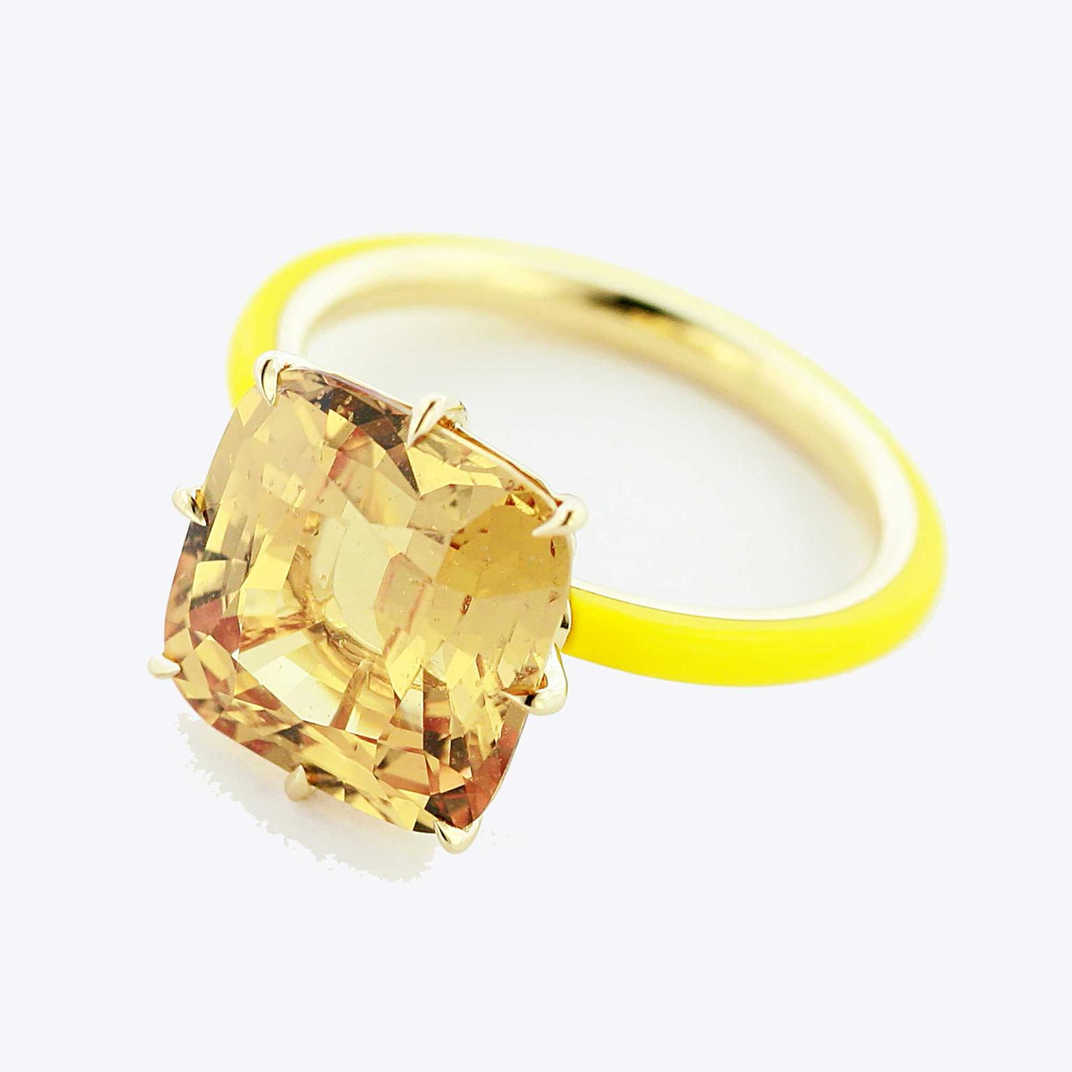 yellow product loose carat for pukhraj jewelry sapphire gemstone