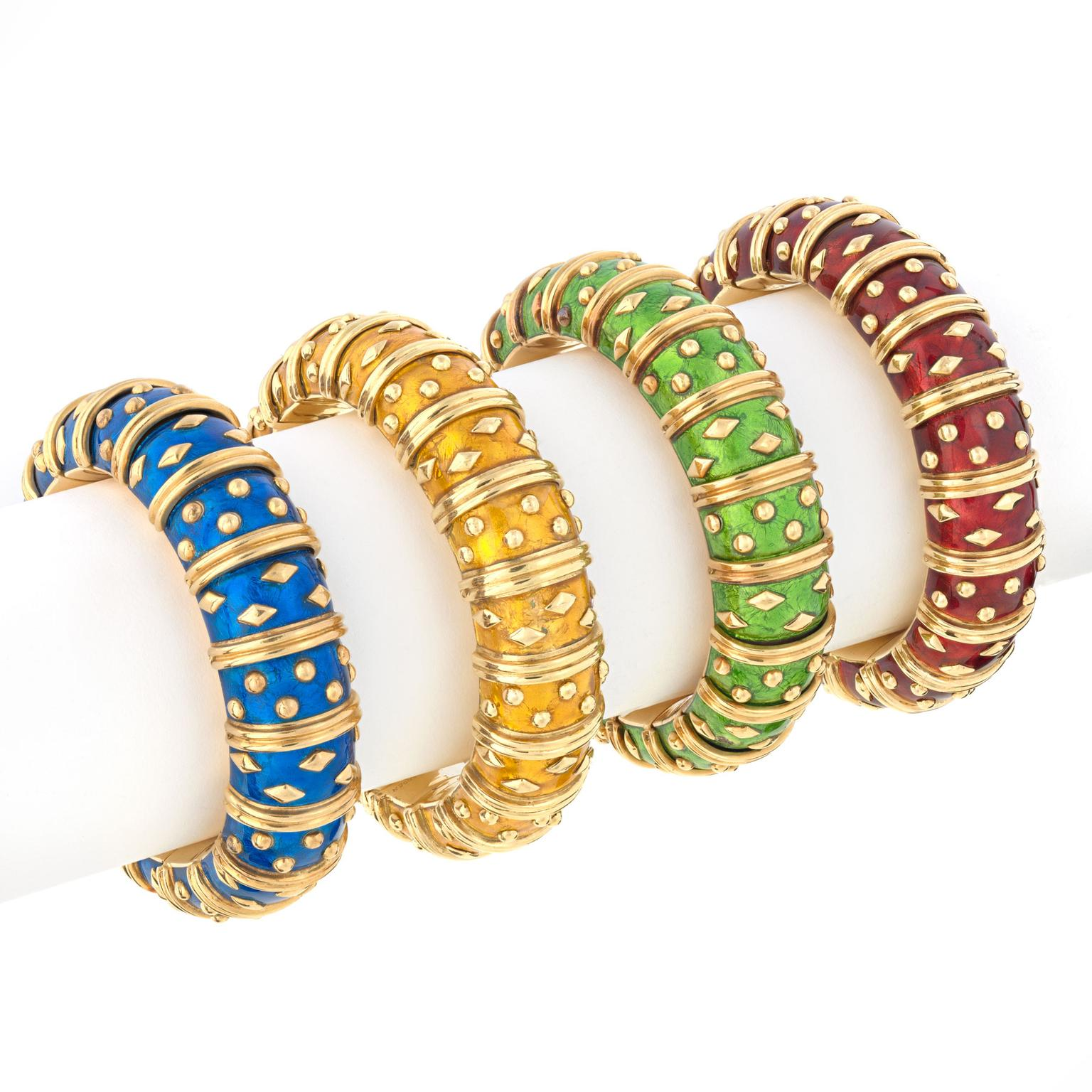 Jean Schlumberger Dot Losange bracelets for Tiffany & Co.