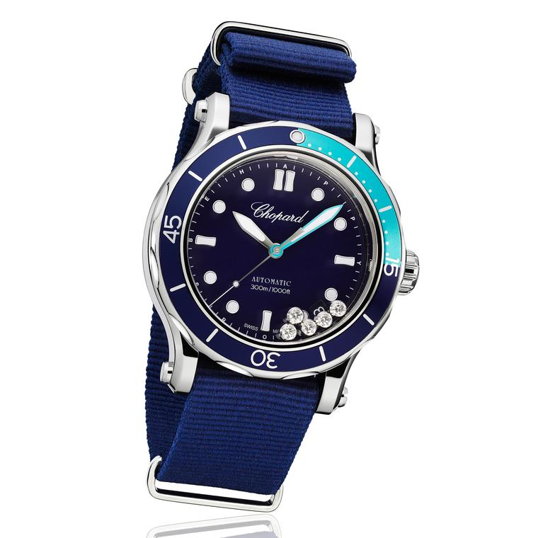 Chopard Happy Ocean dive watch