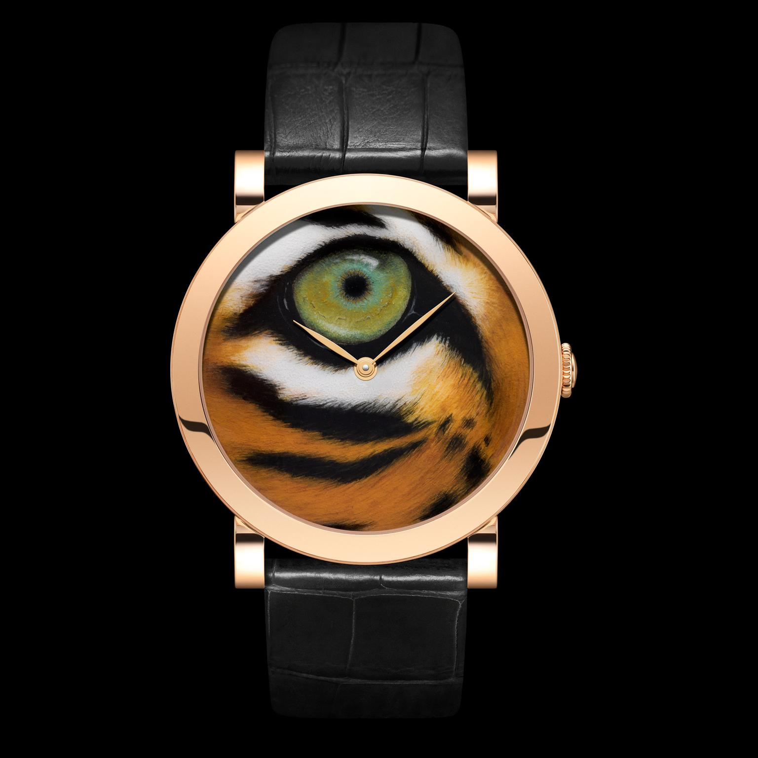 DeLaneau Tiger  Eye watch