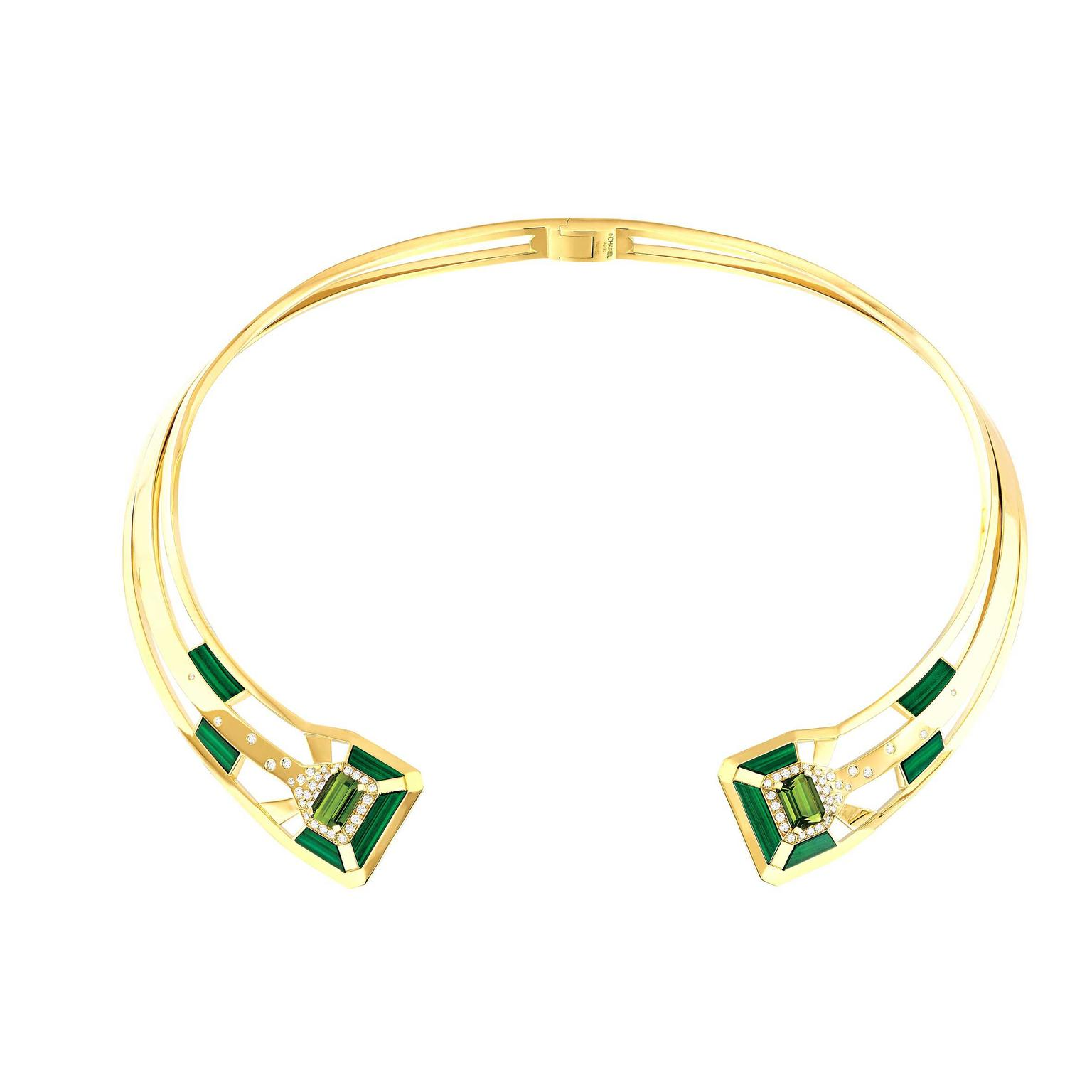 Chanel-COLLIER-MY-GREEN