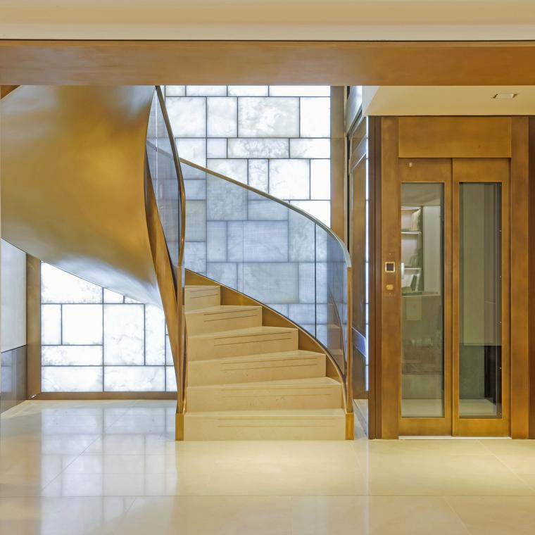 Patek Philippe Salon London staircase