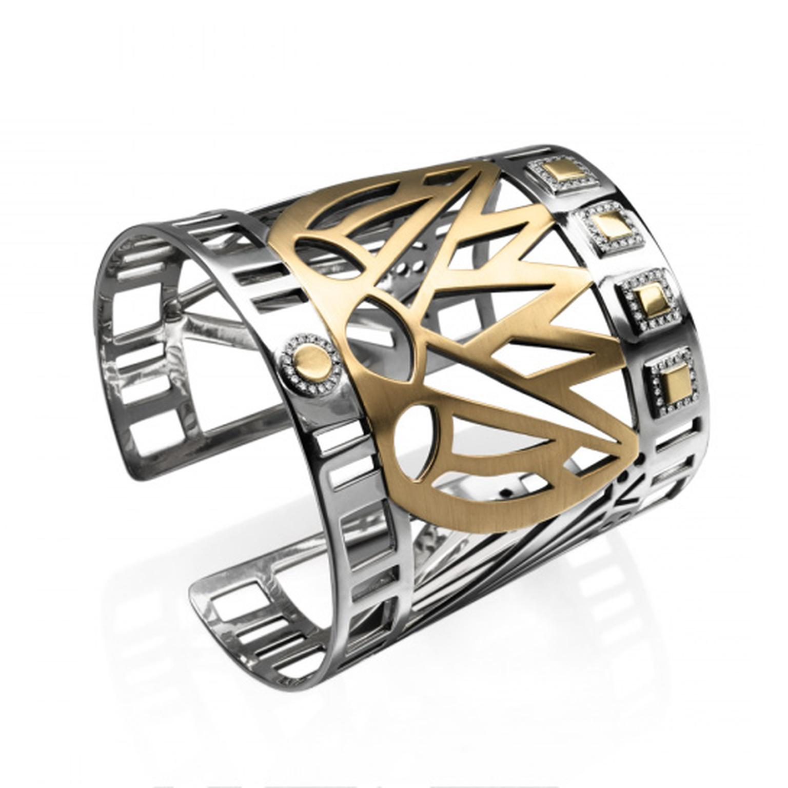 The Lotus Cuff from Azza Fahmy