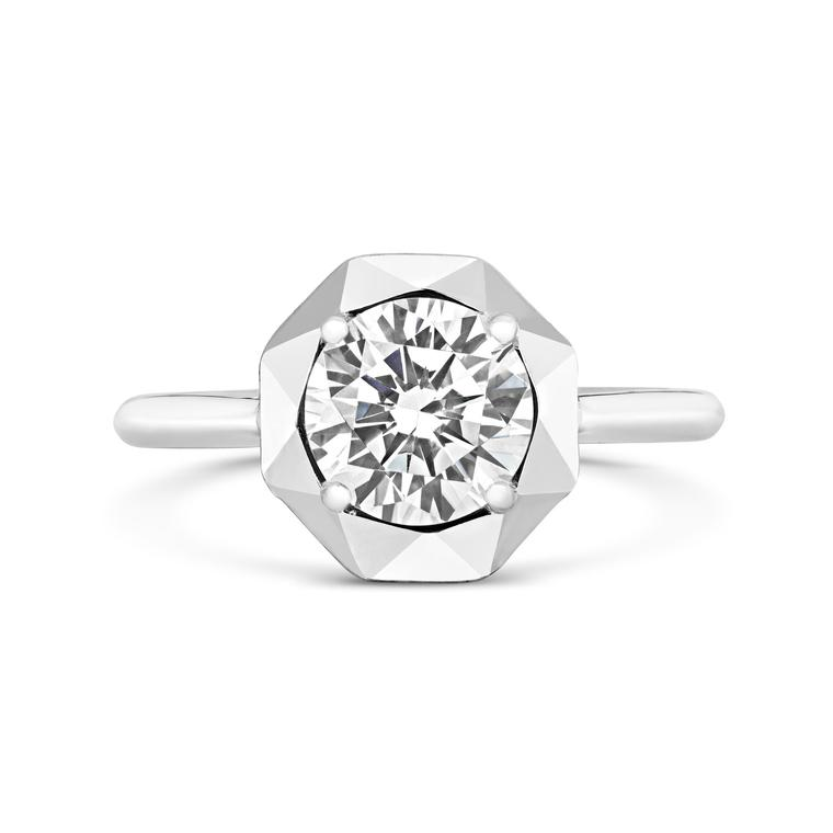 CRED Stella solitaire Canadian diamond ring