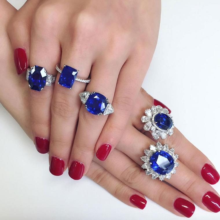 Connie Luk, who works at Christie's jewellery department, on Instagram