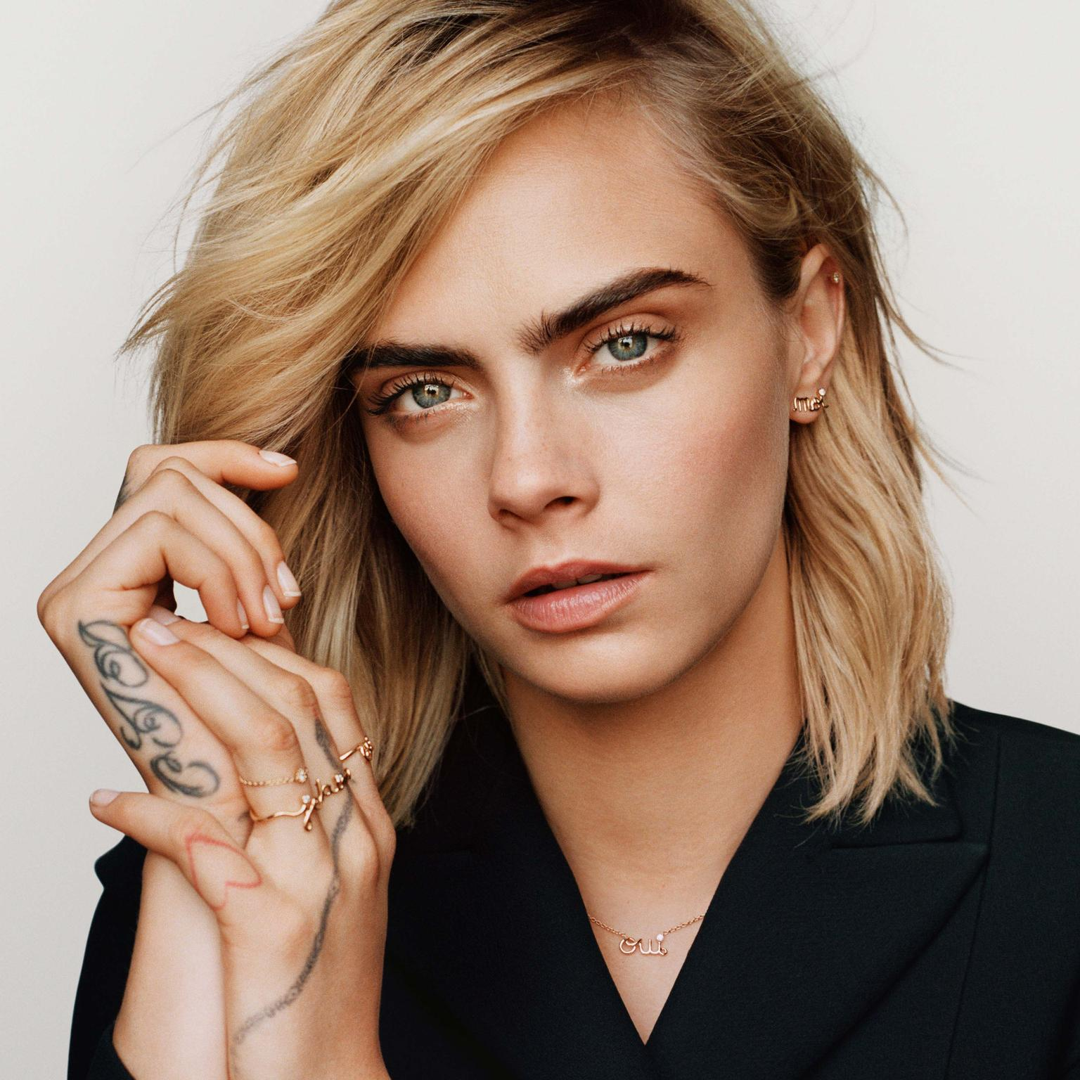 Dior Oui collection with Cara Delavingne