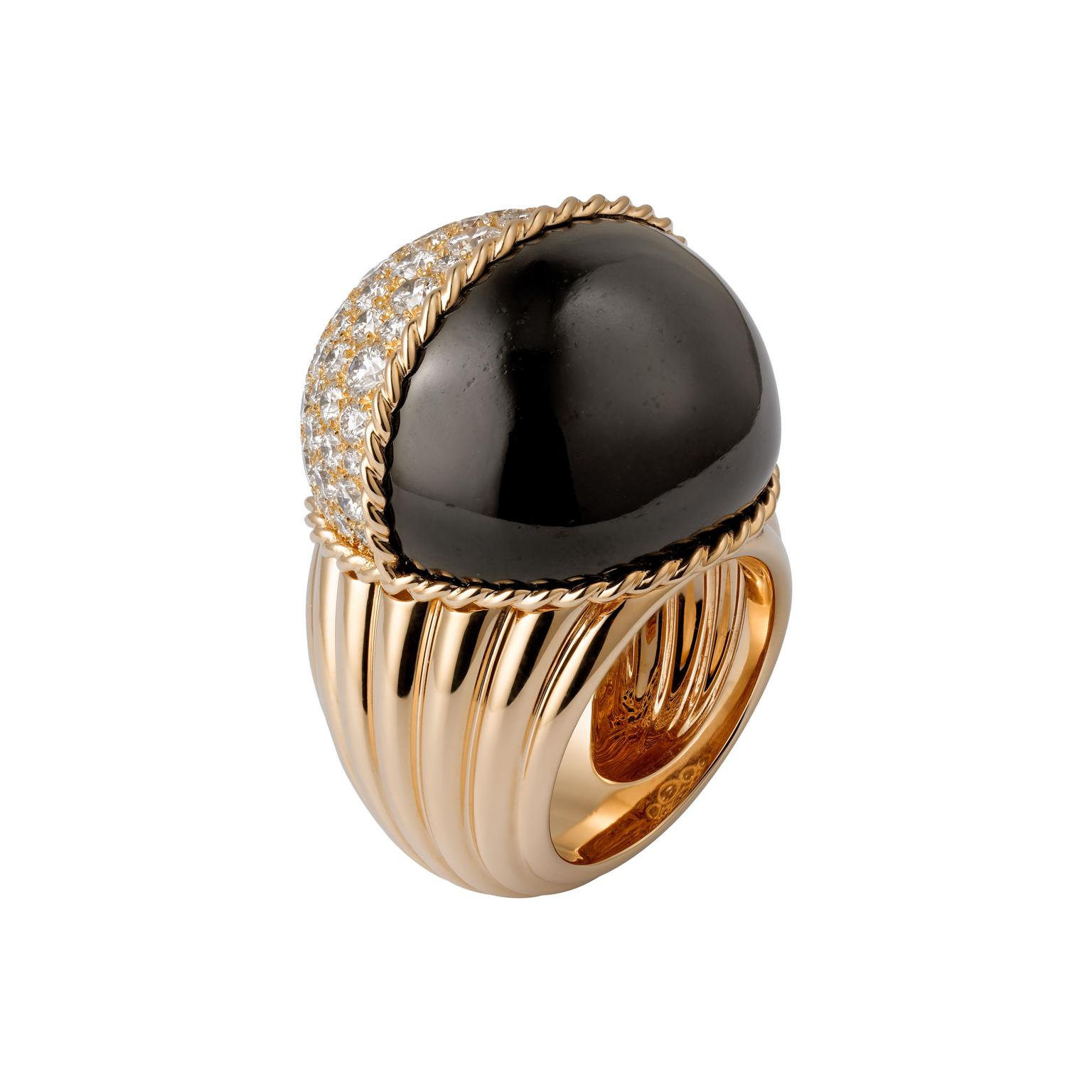 Cartier Paris Nouvelle Vague black jade ring
