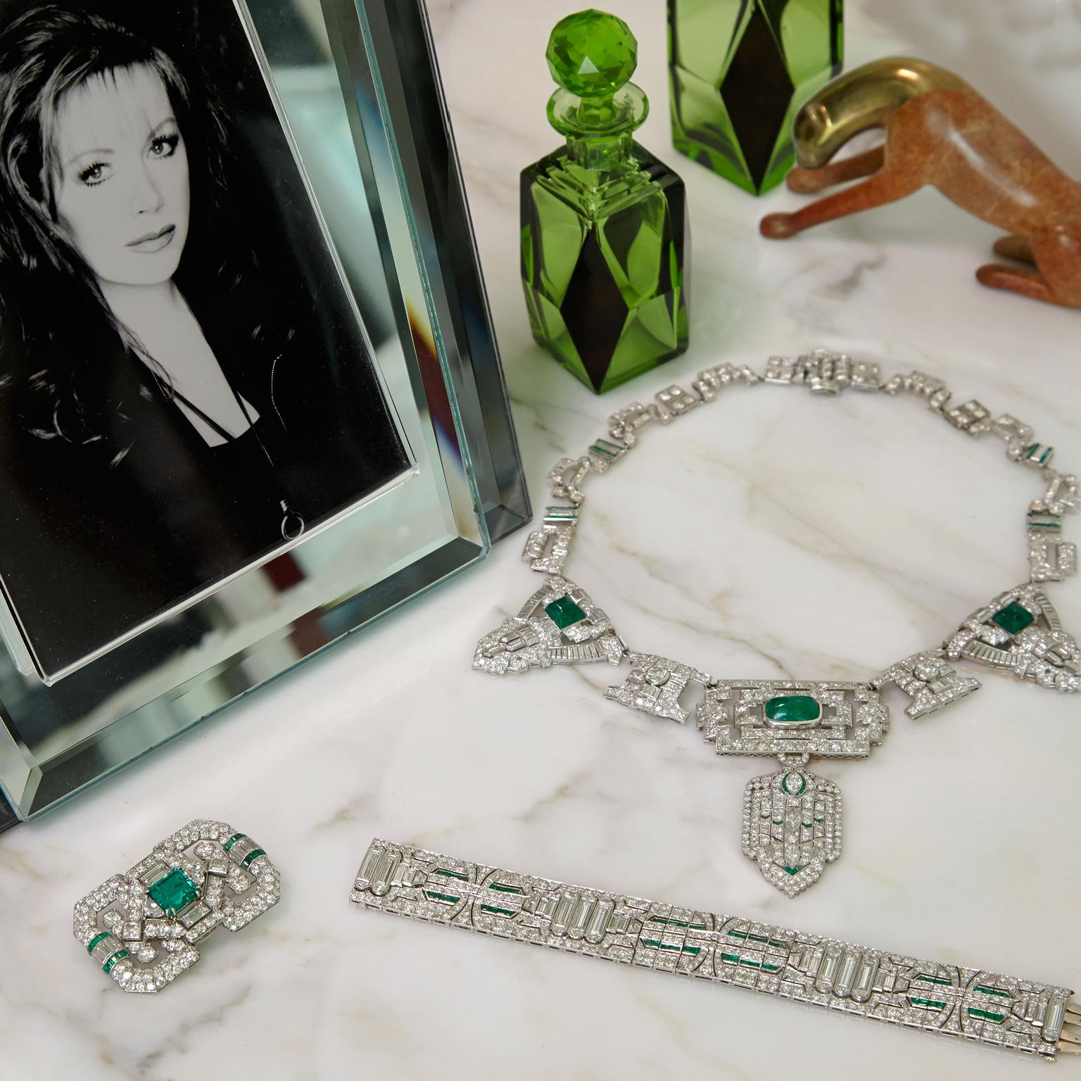 Jackie Collins' jewels up for auction at Bonhams in LA