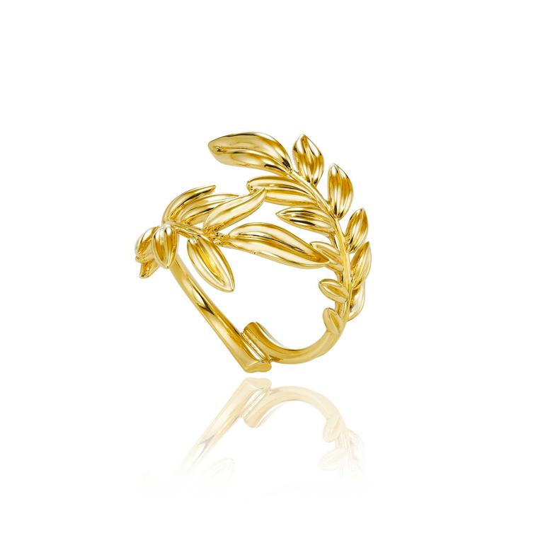 Chopard Palme Verte Fairmined gold ring