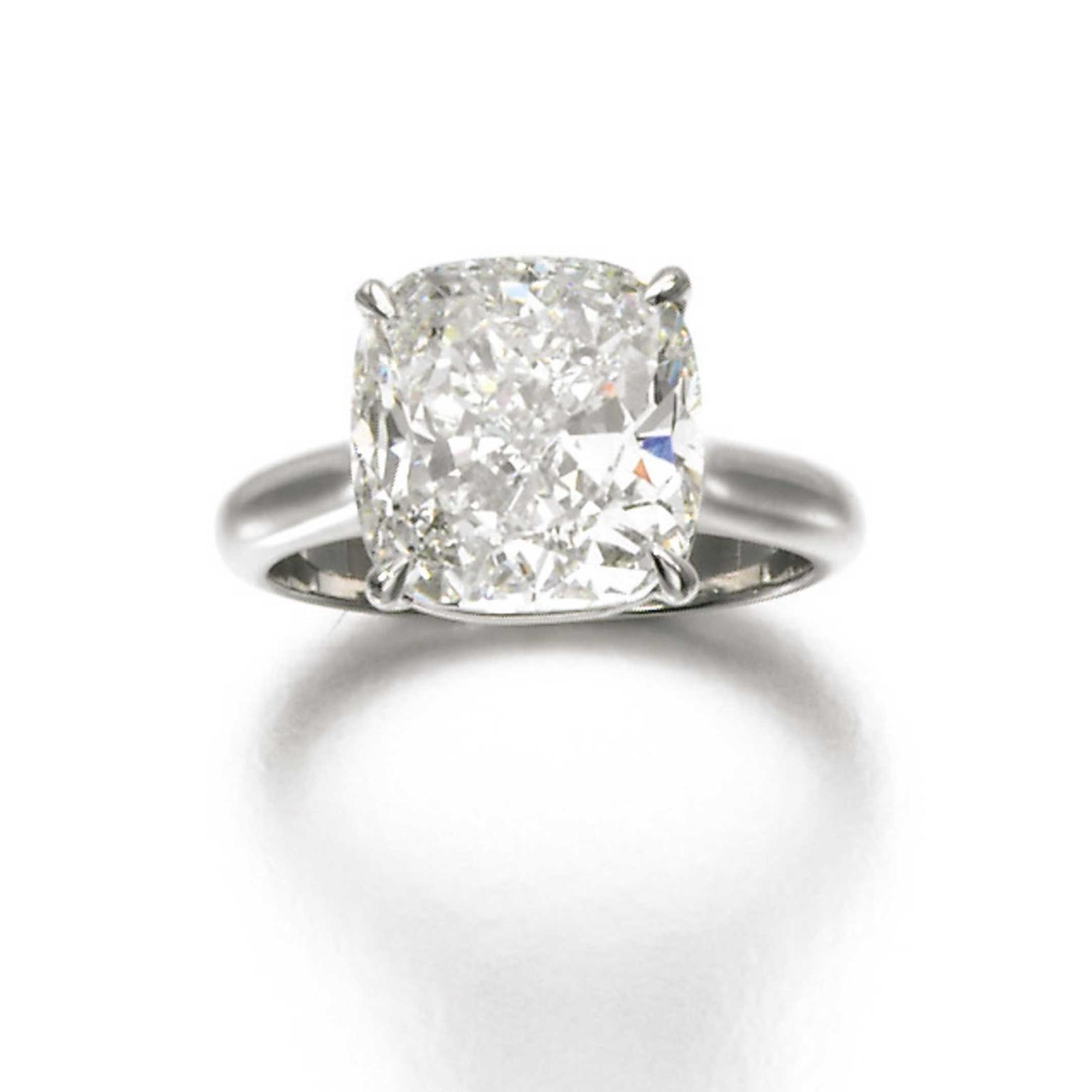 Lot 398 diamond ring