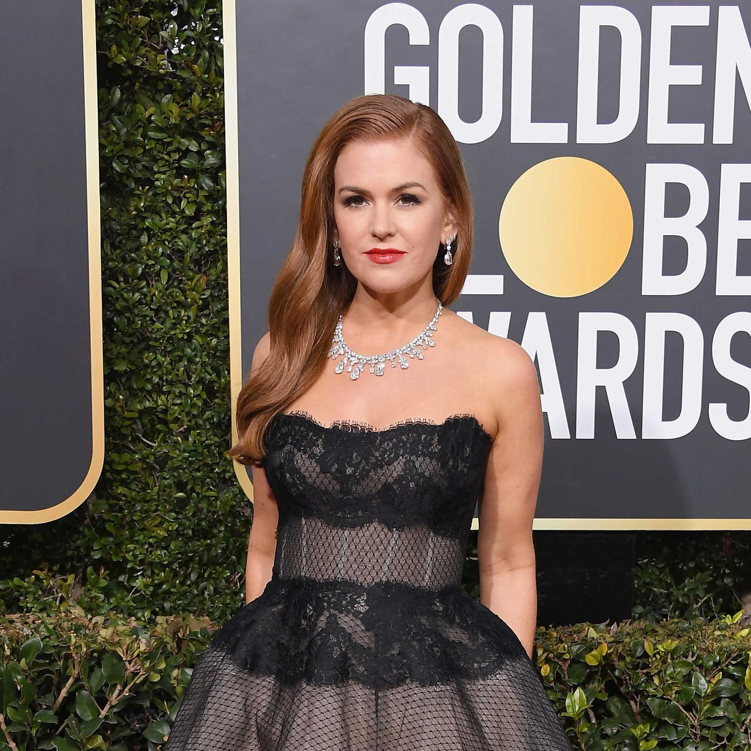 Isla Fisher Harry Winston Golden Globes 2019