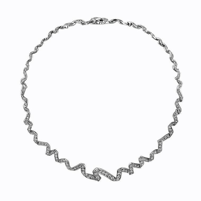 Archi Dior Diorama diamond collier necklace
