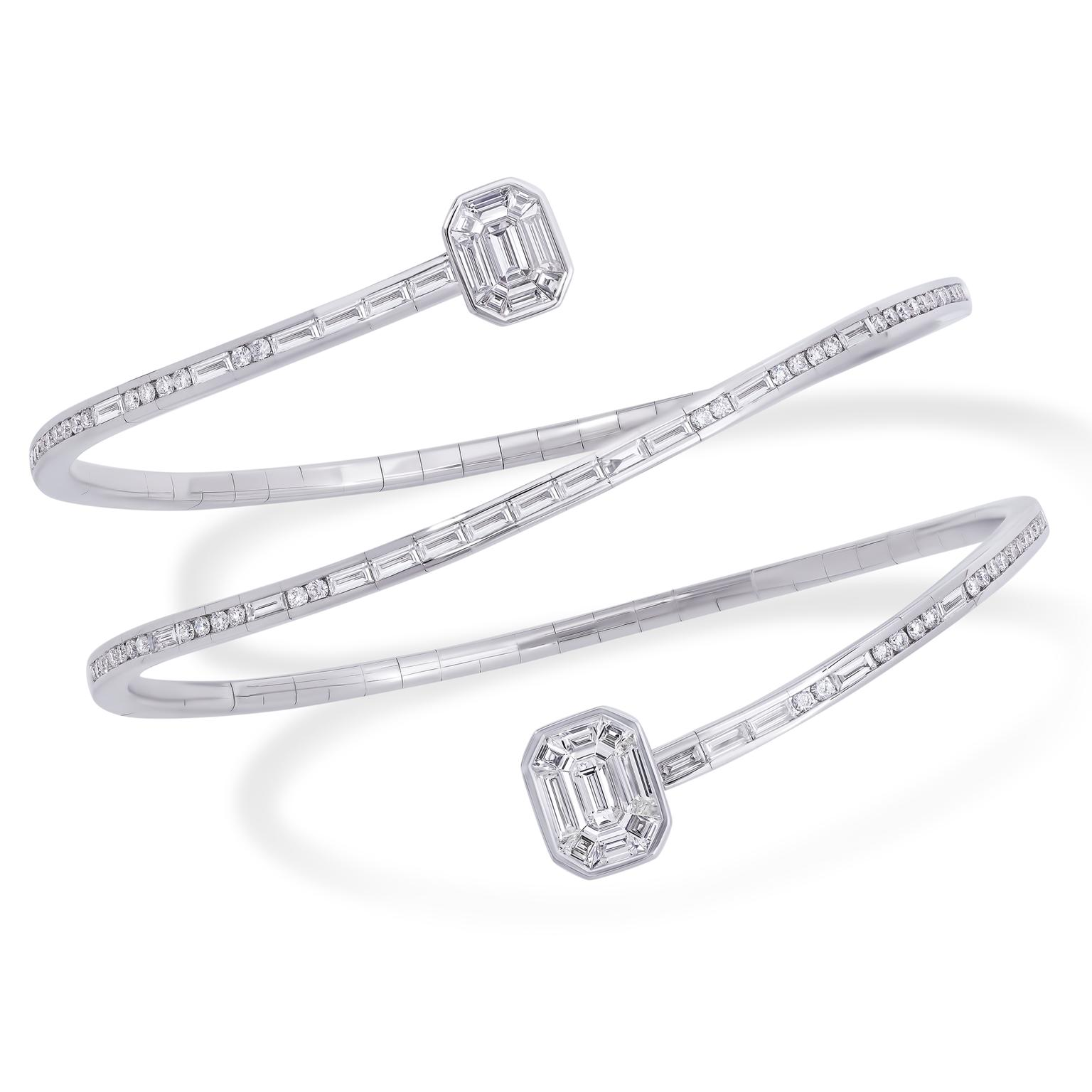 Stenzhorn Muse Dancer diamond bangle