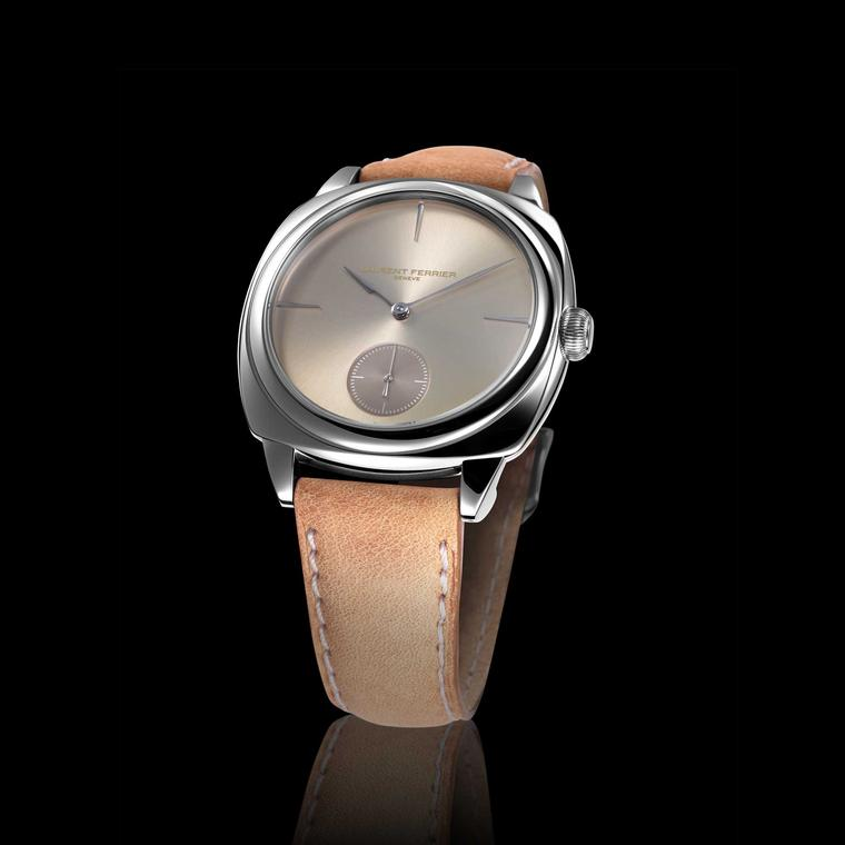 Laurent Ferrier Galet Square Soleil Dore watch