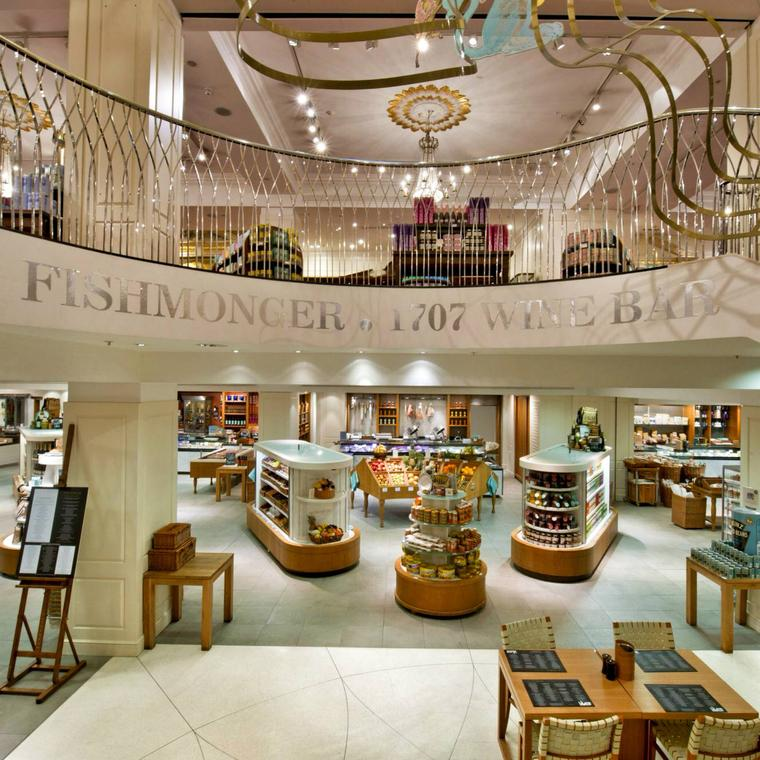 Fortnum & Mason department store in London