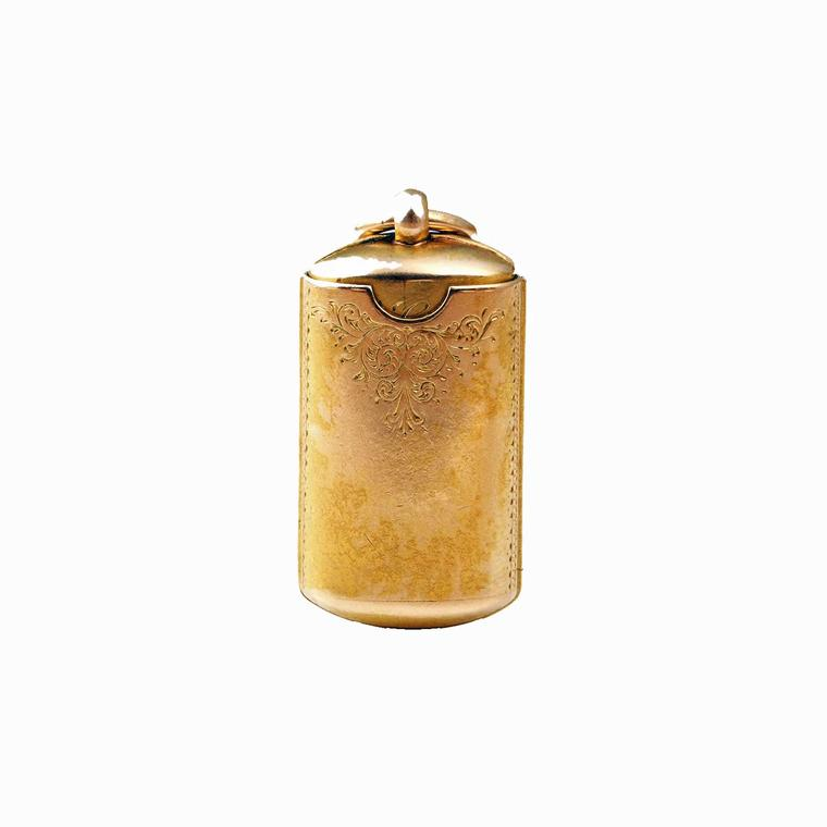 Bell and Bird rectangle locket case