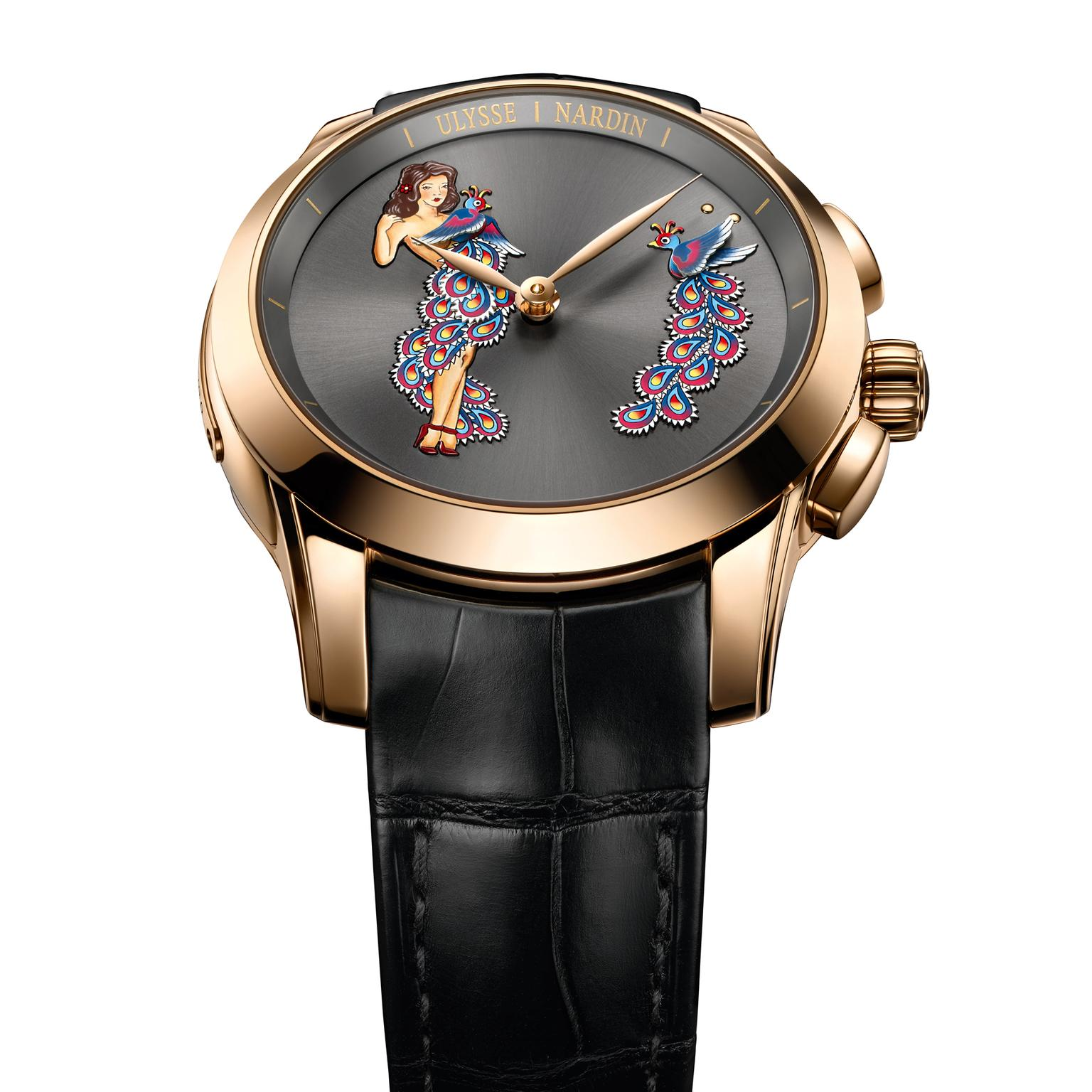 Ulysse Nardin Hourstriker Pin-Up watch