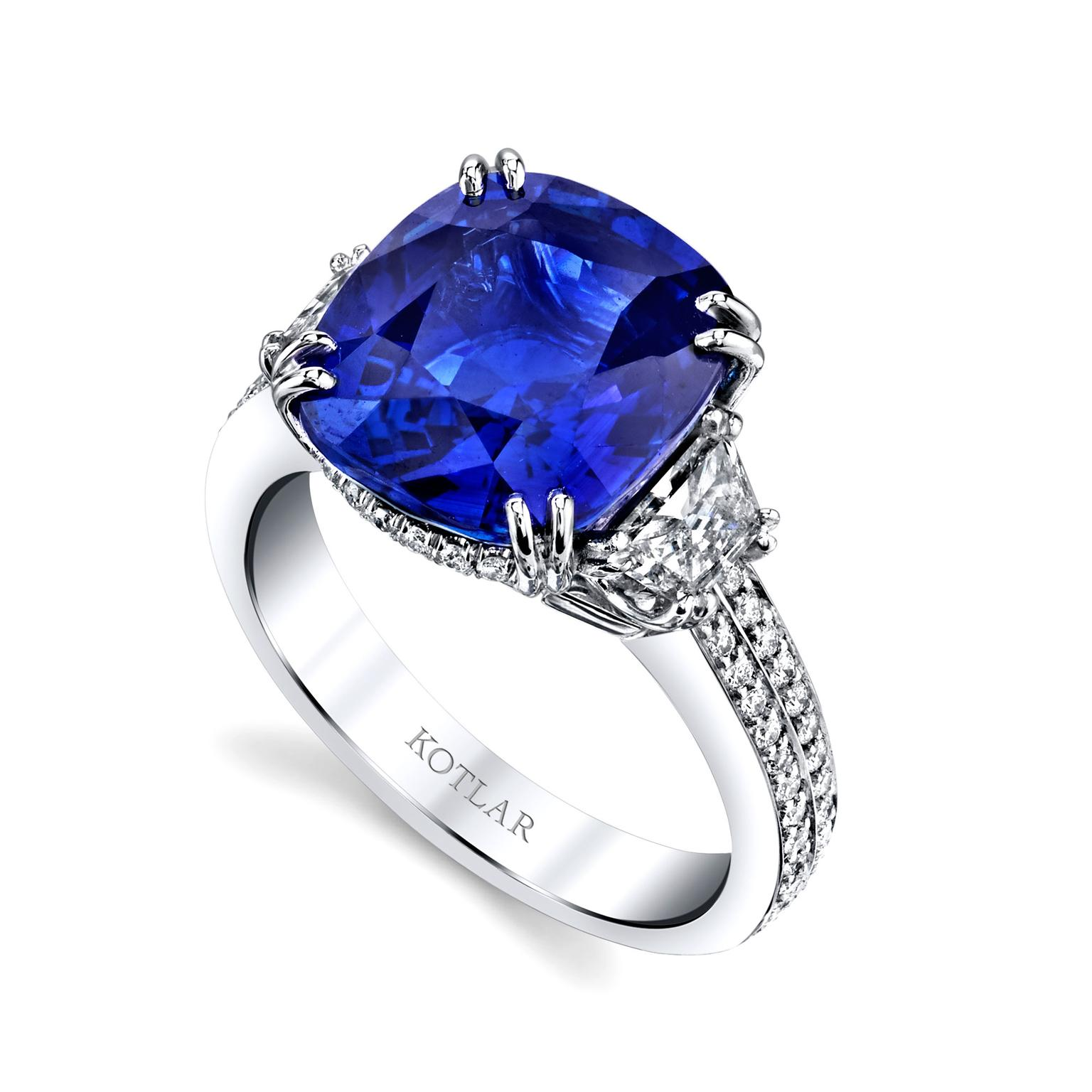 ceylon blue sapphire engagement ring david morris the jewellery editor. Black Bedroom Furniture Sets. Home Design Ideas
