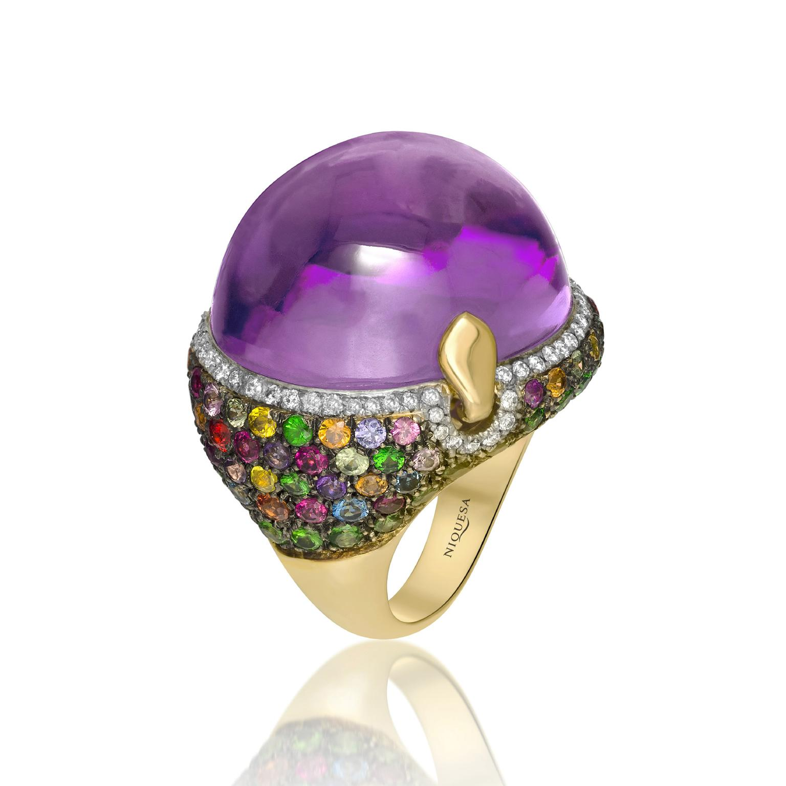 Niquesa amethyst ring
