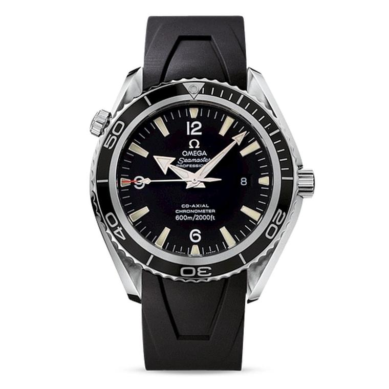 The Omega Seamaster Planet Ocean watch worn by Daniel Craig as James Bond in Casino Royale.