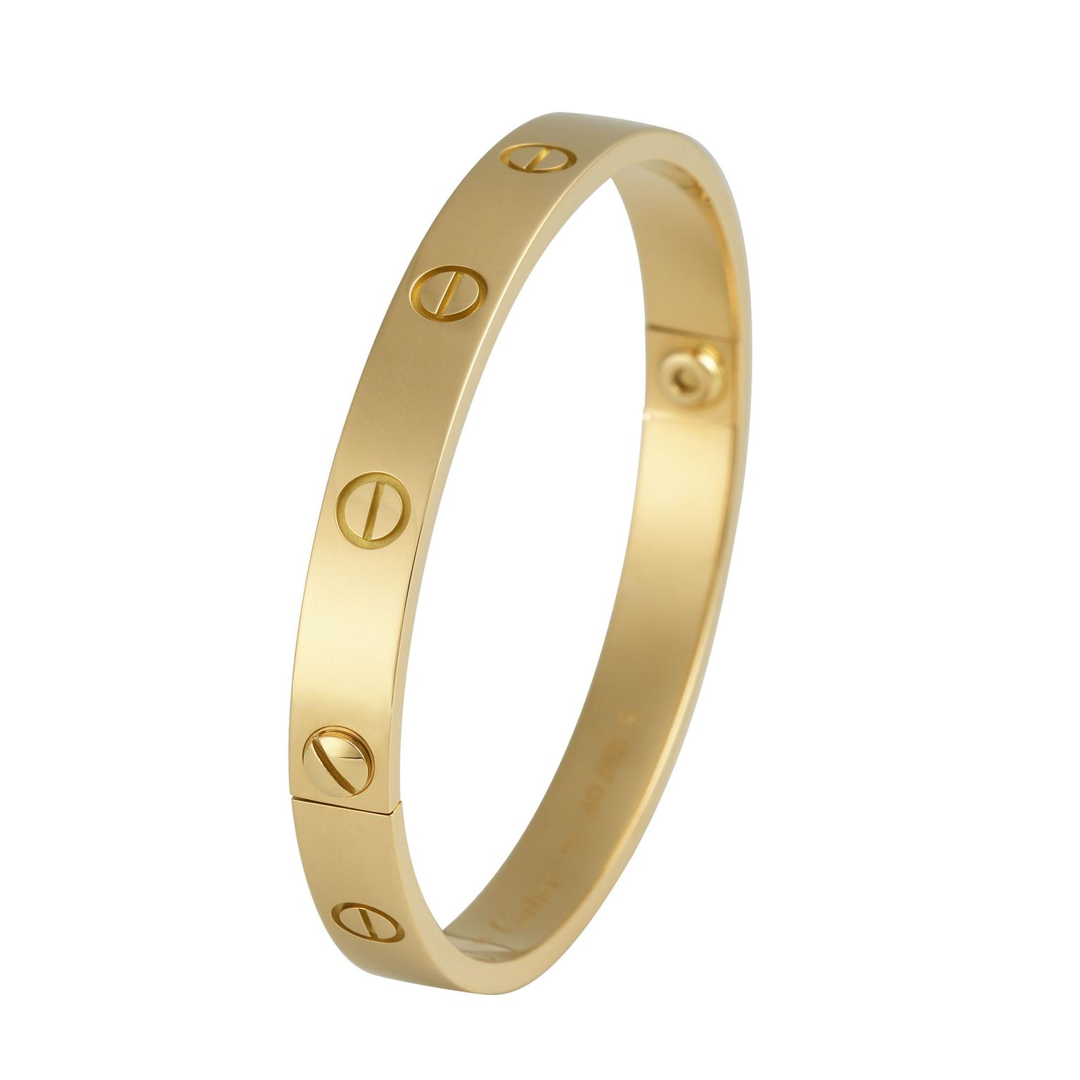 Cartier Love bangle-gold