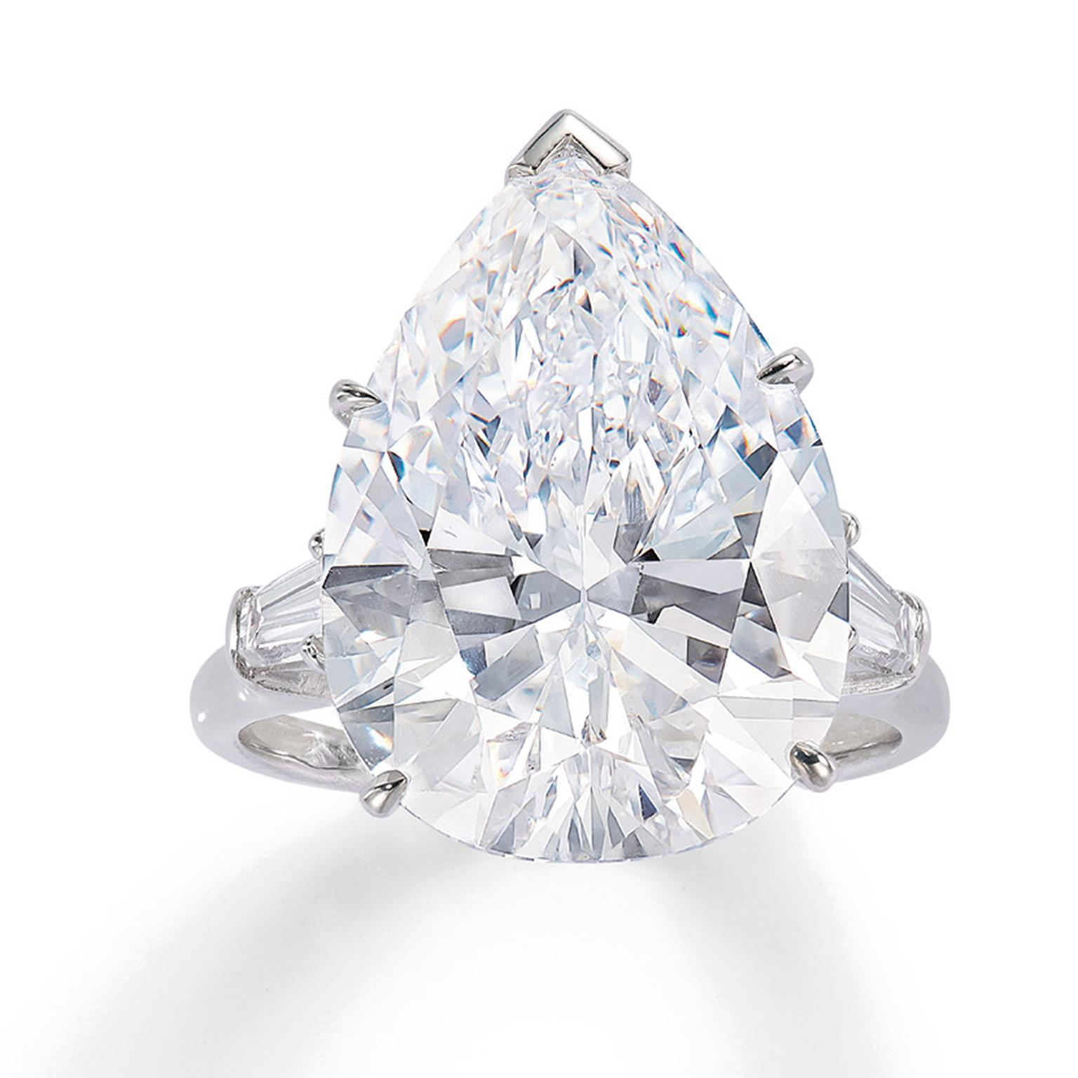 Lot 579 diamond ring for Phillips auction