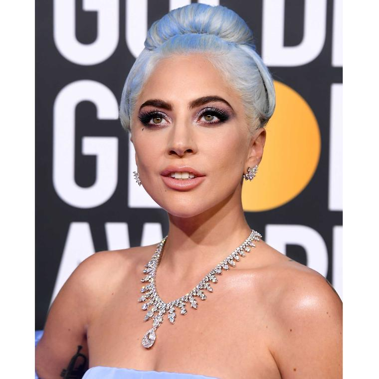 Lady Gaga Tiffany diamonds Golden Globes 2019 diamonds