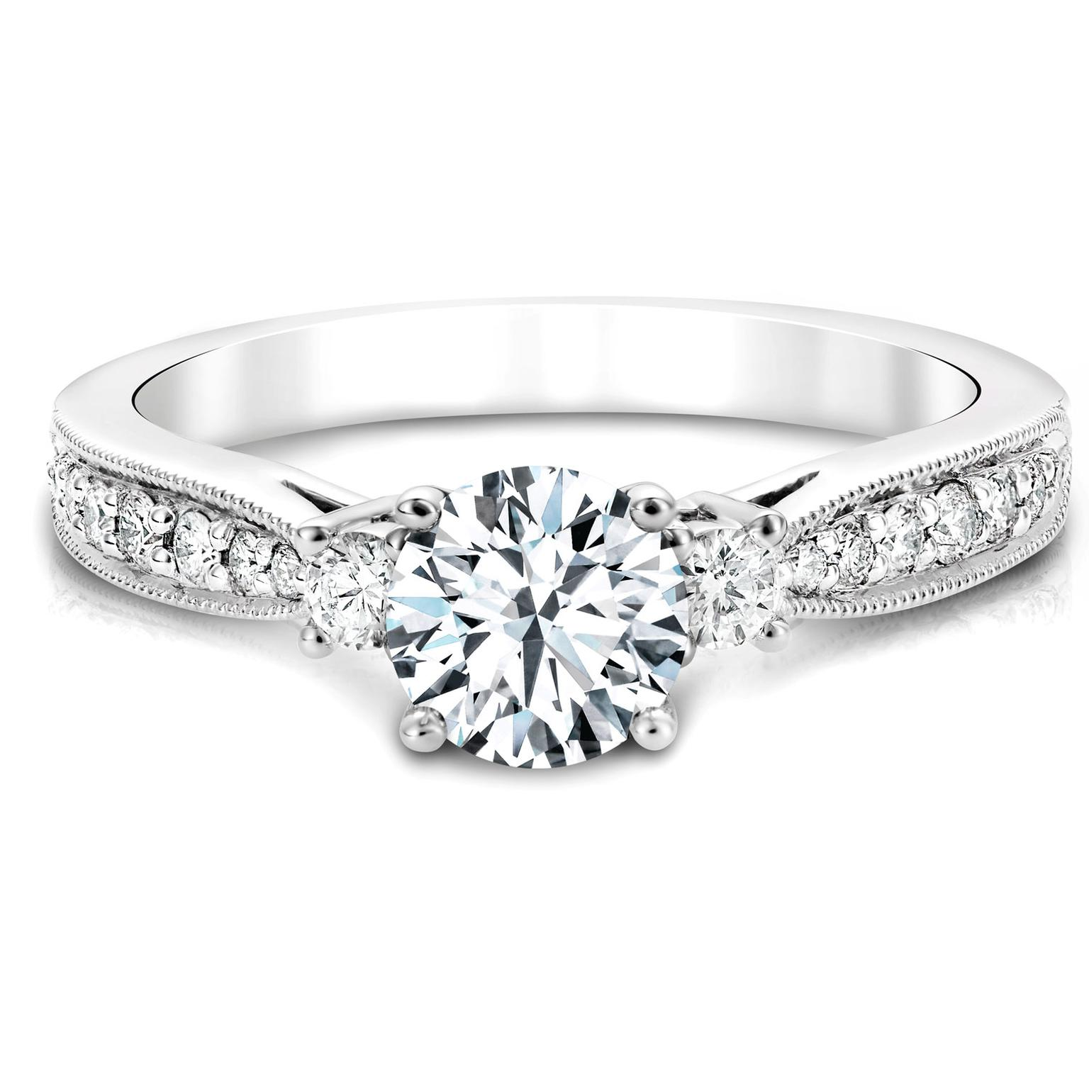 Jacob Mercari Canadian diamond engagement ring