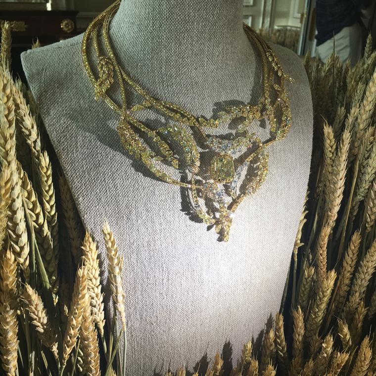 Chanel transforms the wheat sheaf into haute joaillerie