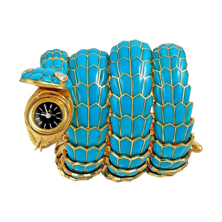 Yafa Bulgari Serpenti bracelet watch