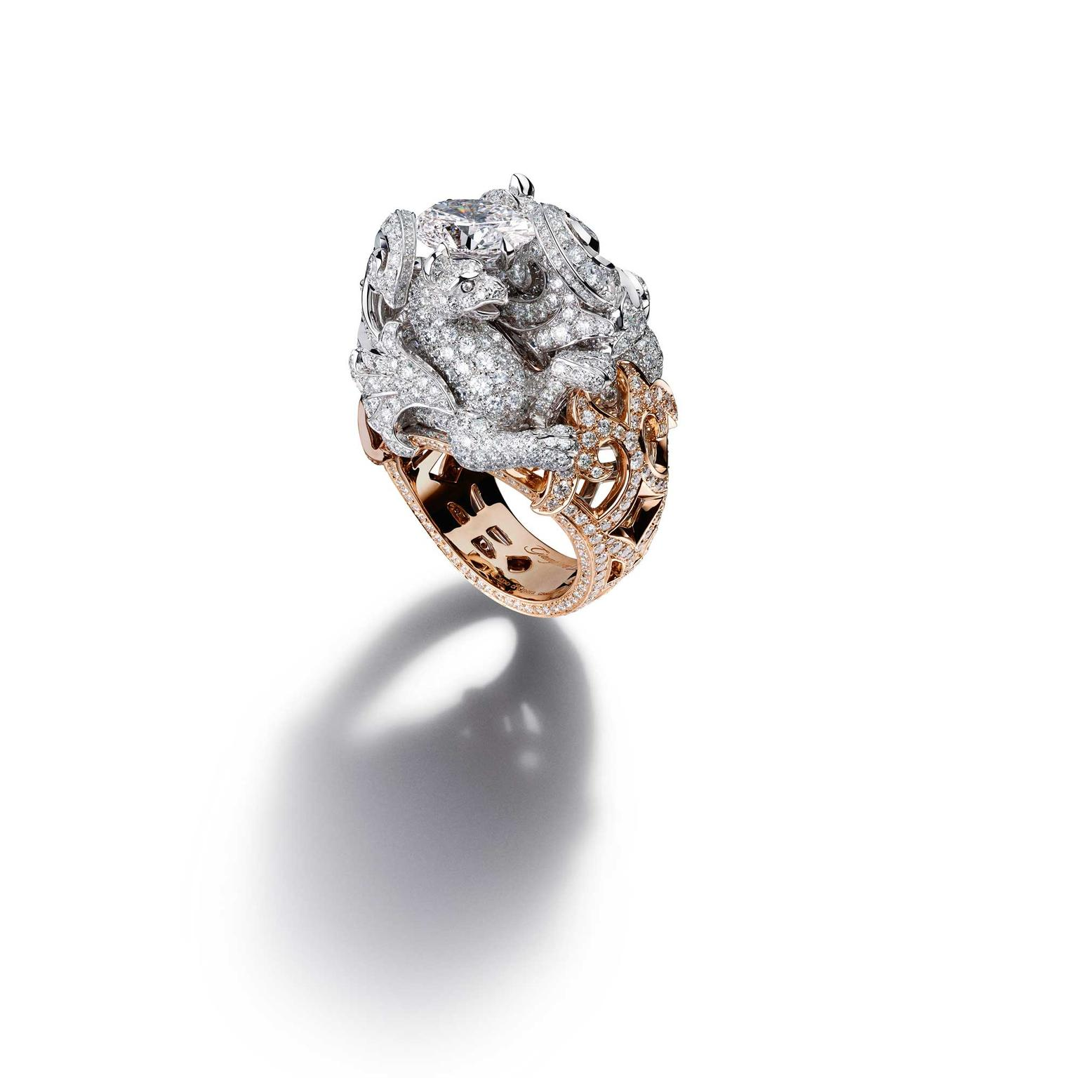 Giampiero Bodino Chimera diamond ring