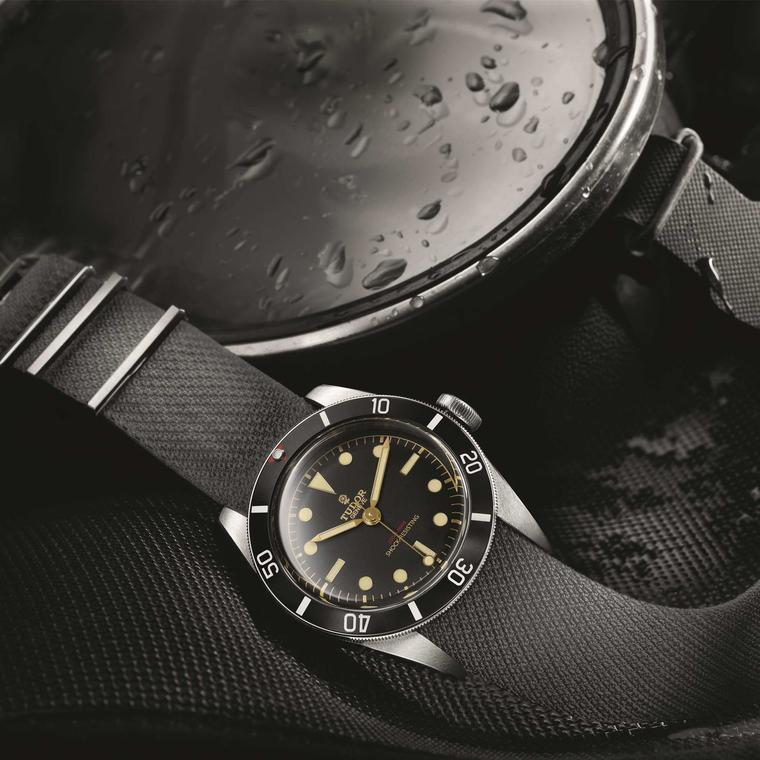 Tudor Heritage Black Bay One watch